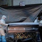 अमेरिकामा कोरोनाबाट २४ घण्टामै थप ६३० जनाको मृत्यु, मृत्यु हुनेको संख्या १ लाख ६ हजार नाघ्यो